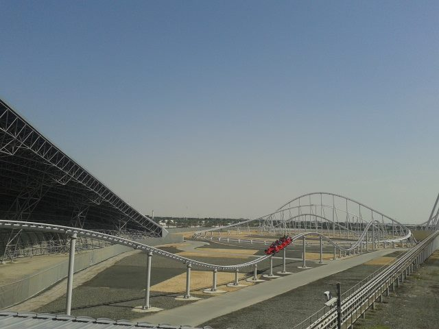 The very fast Formula Rossa