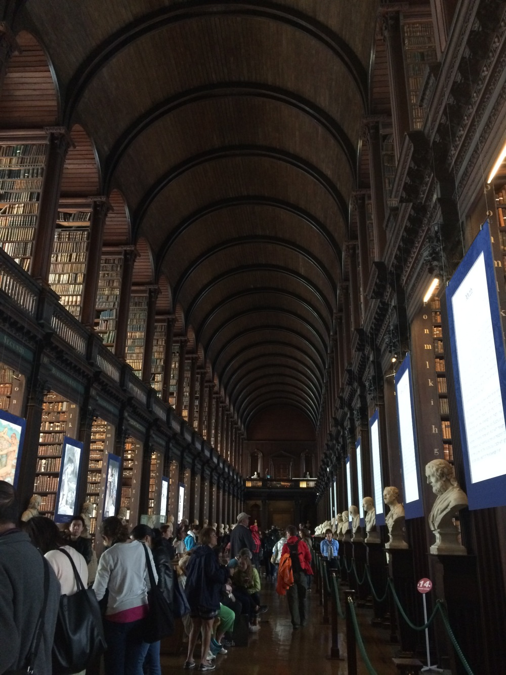 Book of Kells - Trinity College Library - Dublin