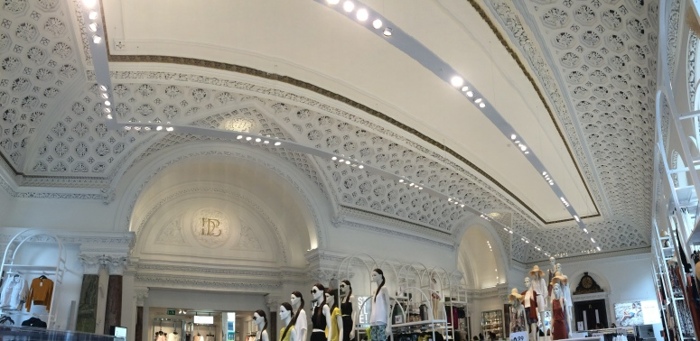 The Interior inside H&M Dublin
